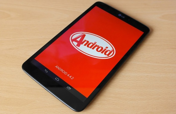 LG, LG G Pad 8.3, G Pad 8.3, Android 4.4, Android 4.4 Kitkat, Android KitKat