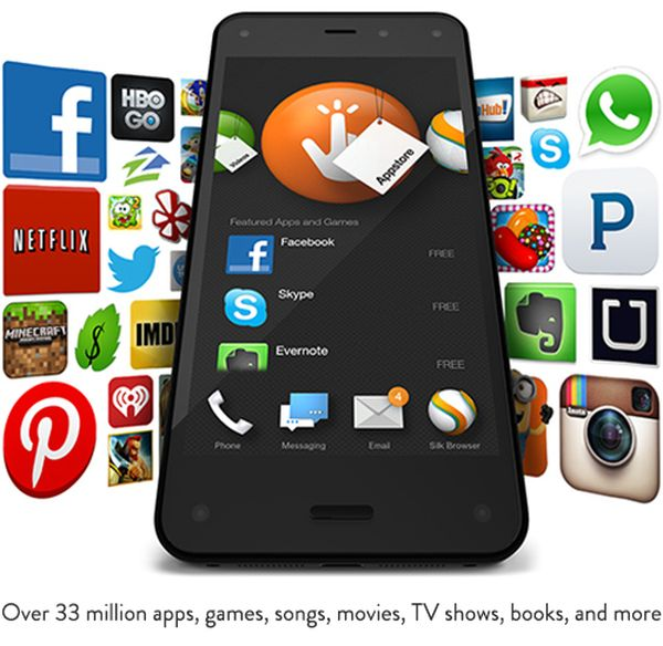 Amazon, Fire Phone, Amazon Fire Phone