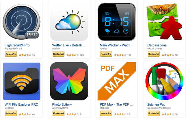 Android, Android Apps, Amazon