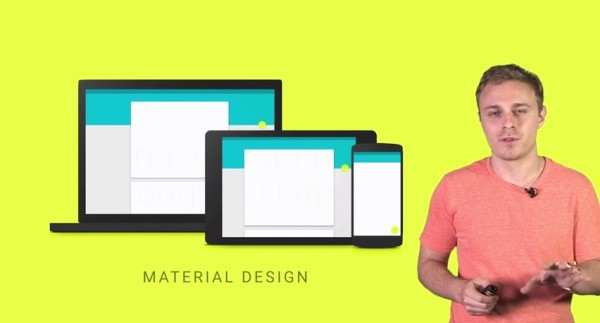 Material Design, Google I/O, Android L