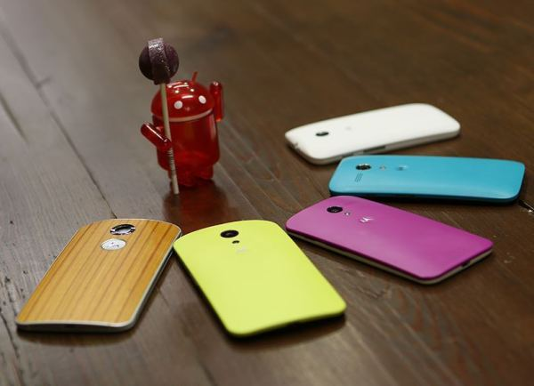Motorola, Android Lollipop