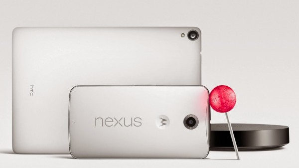 Nexus 6 & Nexus 9 & Nexus Player