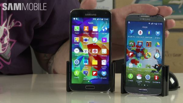 Samsung Galaxy S4 und Galaxy S5 Android 5.0 Lollipop