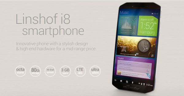 Linshof i8 Android Smartphone