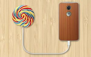 Motorola Android 5.0 Lollipop Update