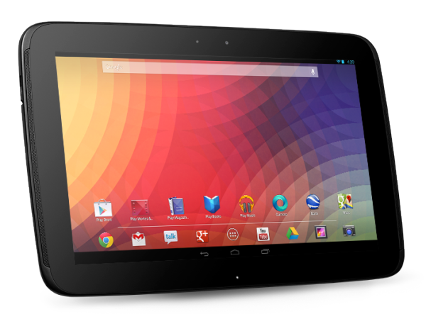 Nexus 10 Android Tablet