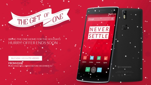 OnePlus One Christmas Sale