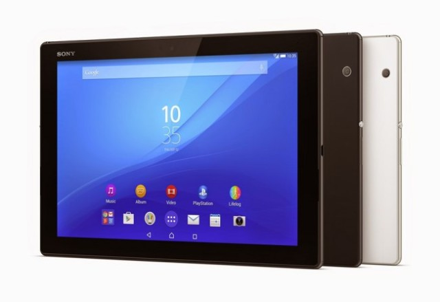 Sony Xperia Z4 Tablet Android Tablet