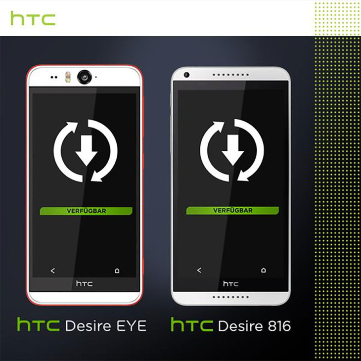 HTC Desire Android Lollipop