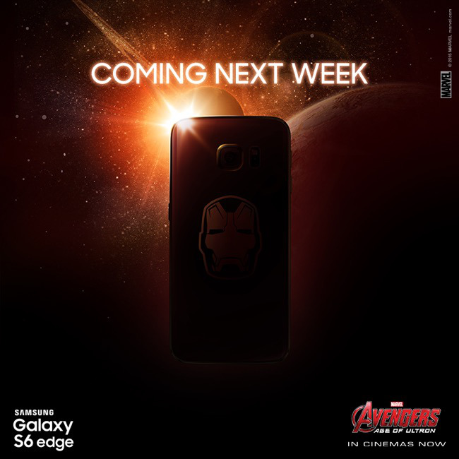 Samsung Galaxy S6 Iron Man Teaser