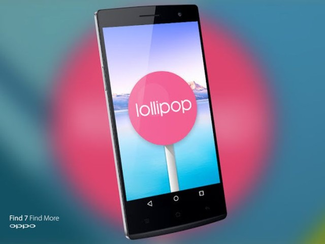 Oppo Find 7 Android 5.0