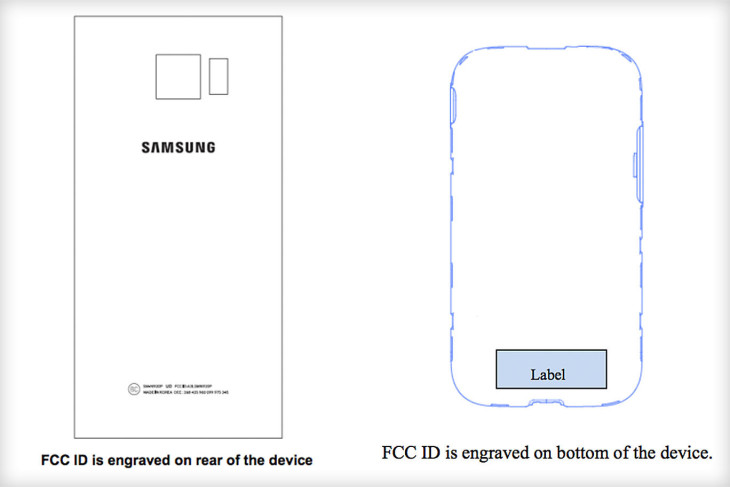 FCC Samsung Galaxy Note 5 und Galaxy S6 edge Plus