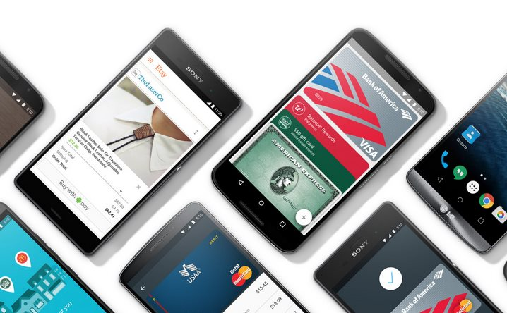 Android Pay Smartphones