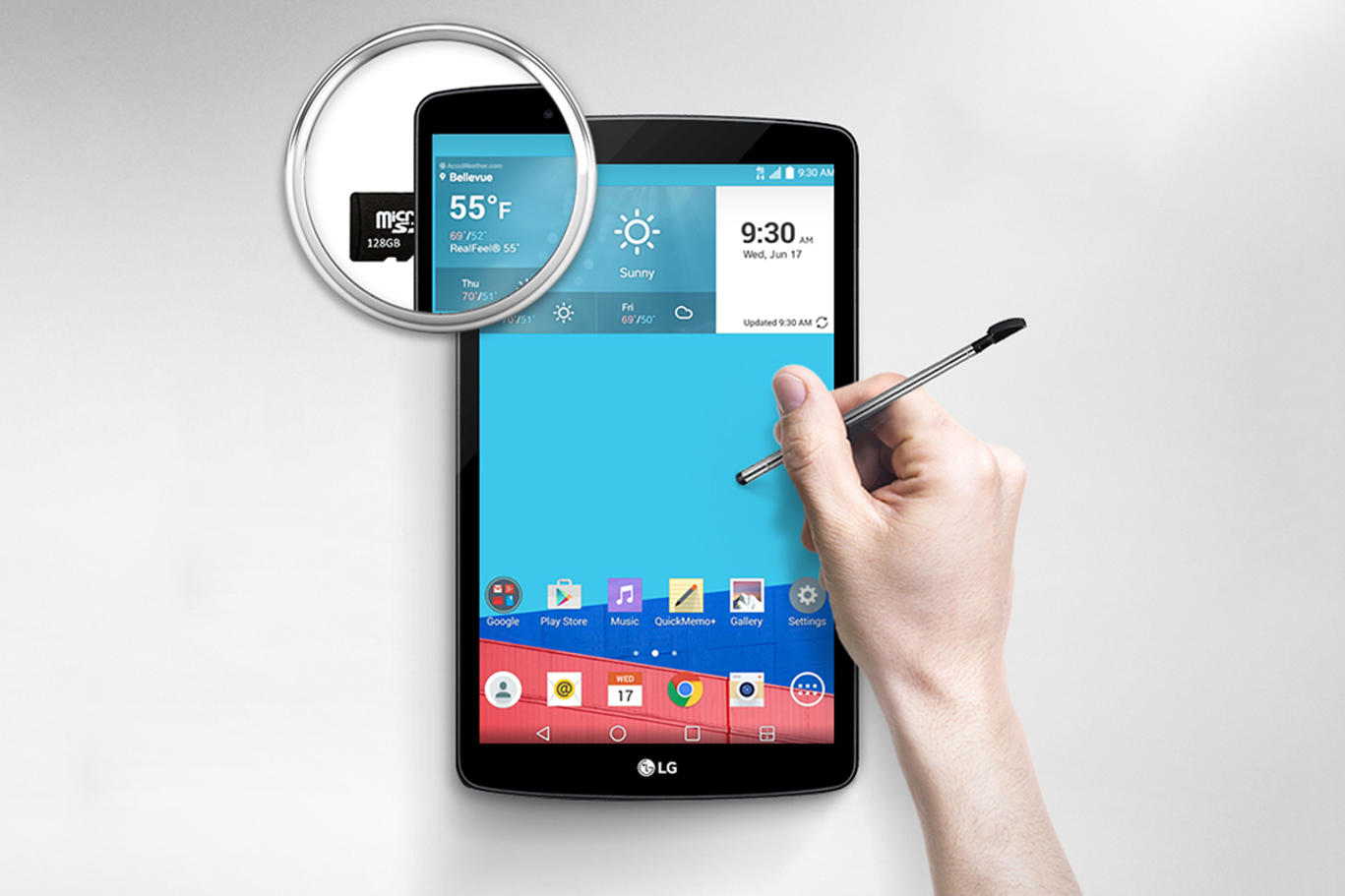 LG G Pad 2 Android Tablet