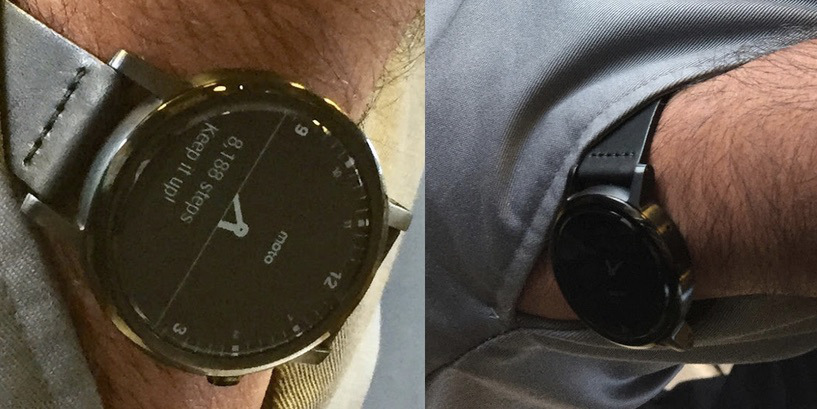 Motorola Moto 360 2015 Android Wear Smartwatch