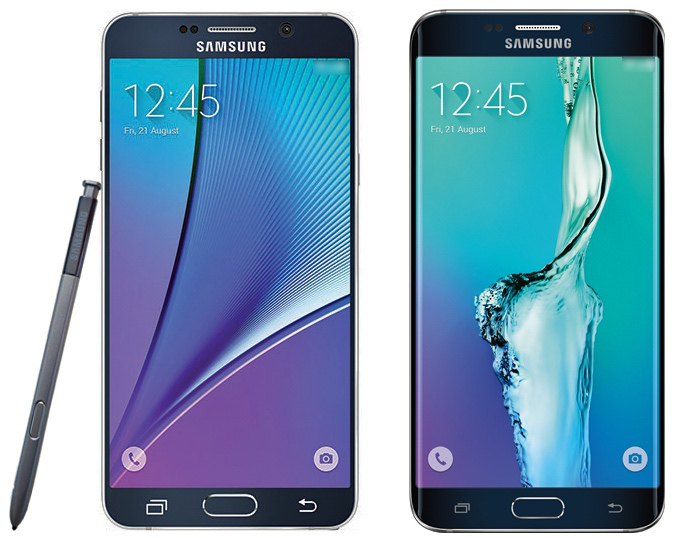 Samsung Galaxy Note 5 & Galaxy S6 edge Plus