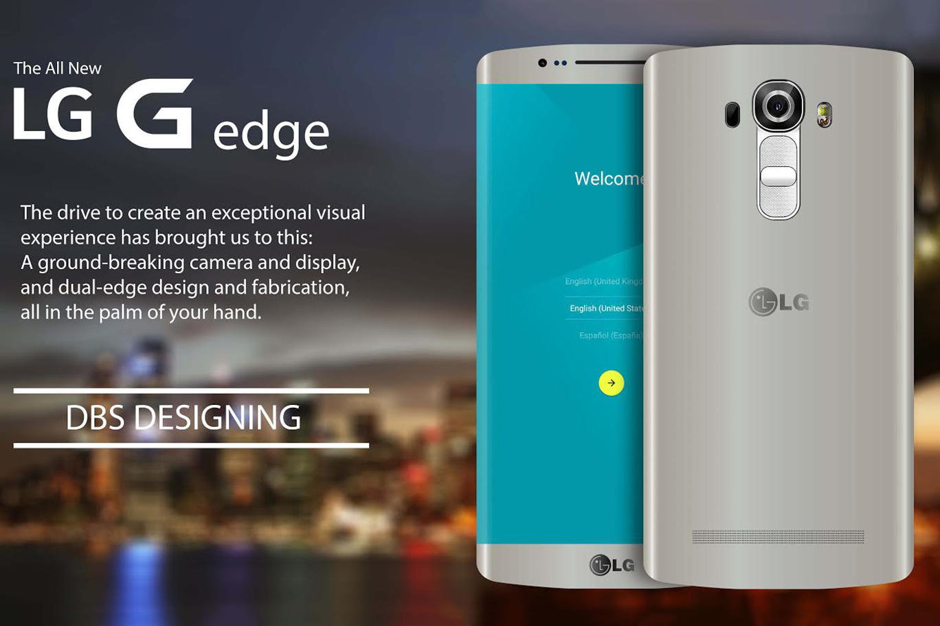 LG G Edge Android Smartphone