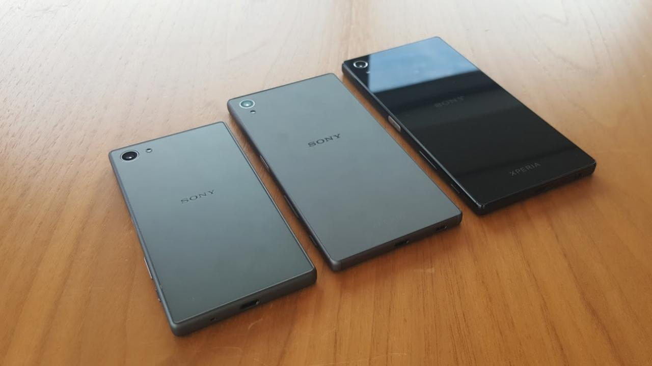 Sony Xperia Z5 Android Smartphones
