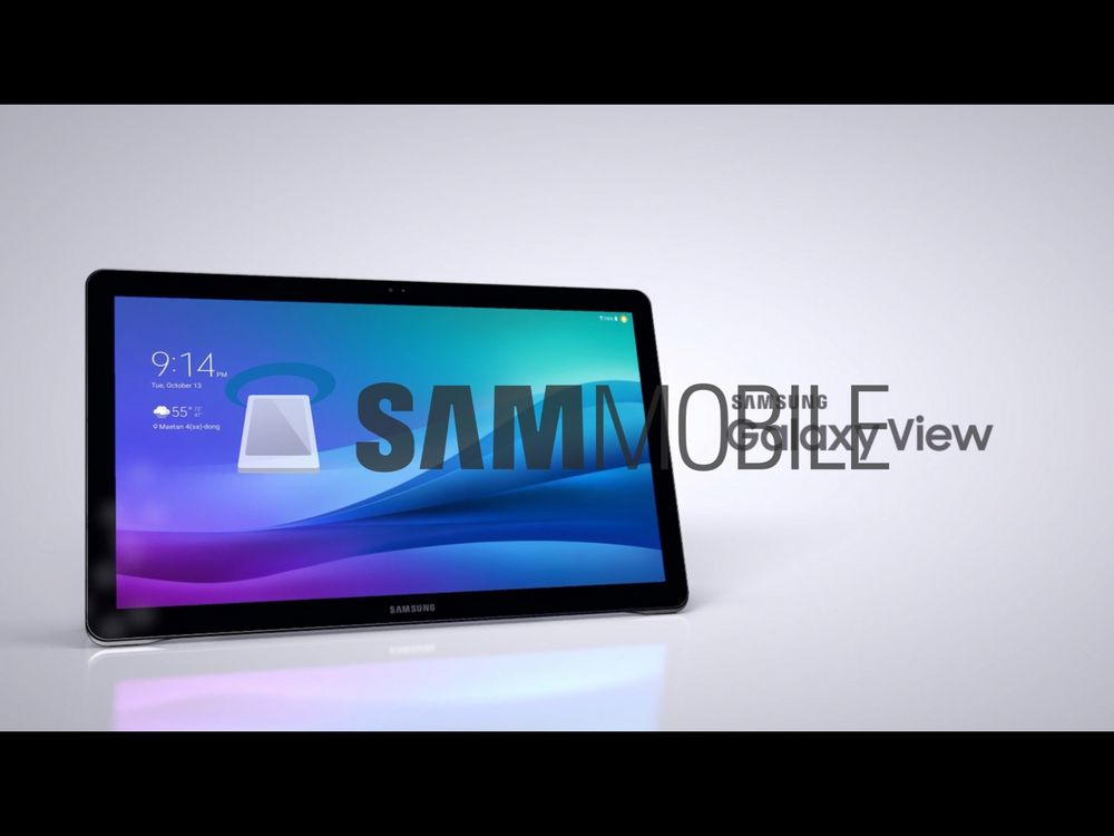 Samsung Galaxy View Android Tablet