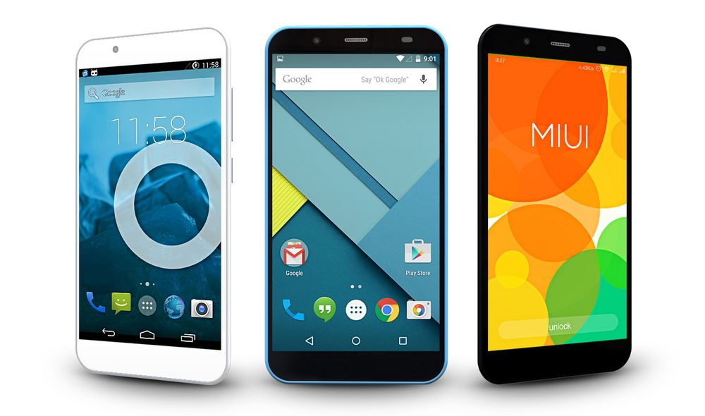 Blueboo XFire Android Smartphone