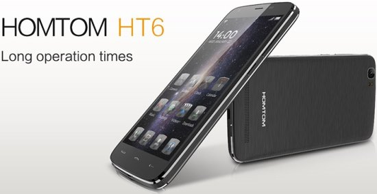 Doogee HomTom HT6 Android Smartphone