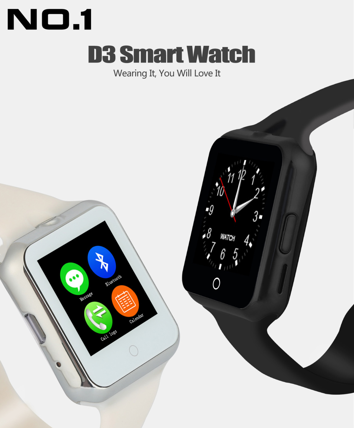 NO.1 D3 Smartwatch