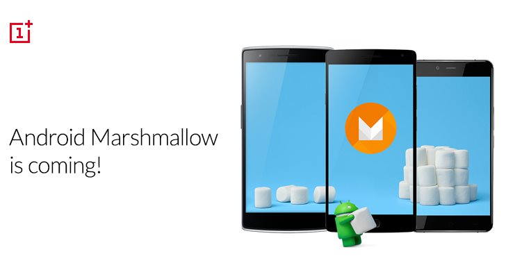 OnePlus Android 6.0 Marshmallow Update