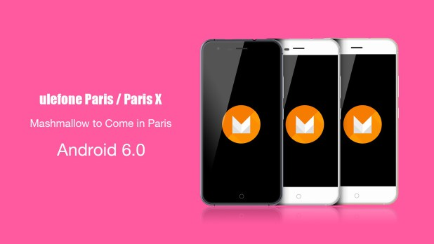 Ulefone Paris Android 6.0 Marshmallow