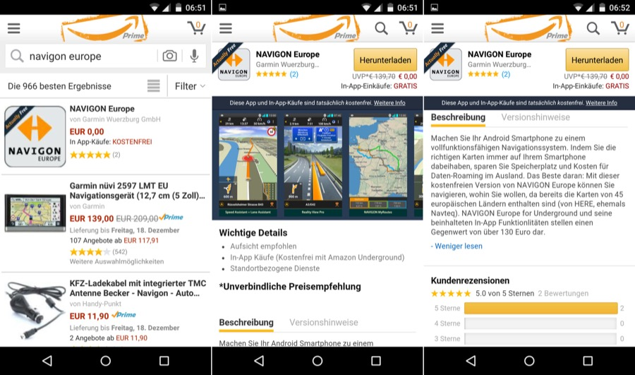 Navigon Europe Android Apps