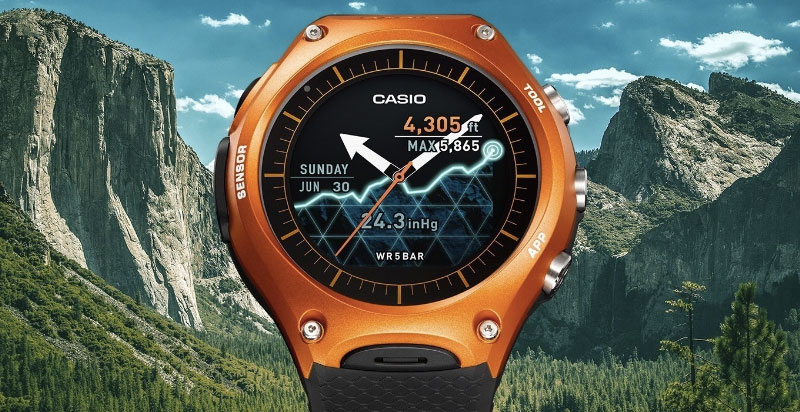 Casio WSD F10 Android Smartwatch