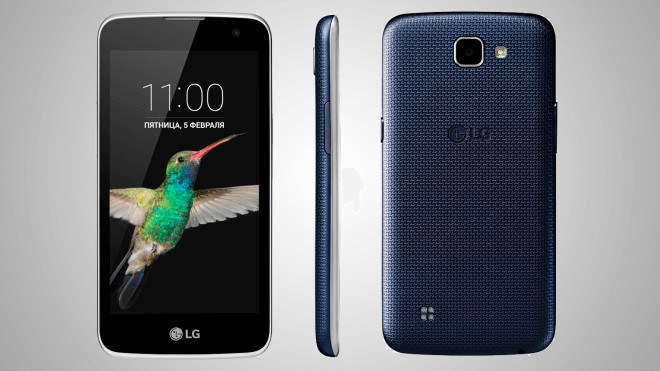 LG K4 Android Smartphone