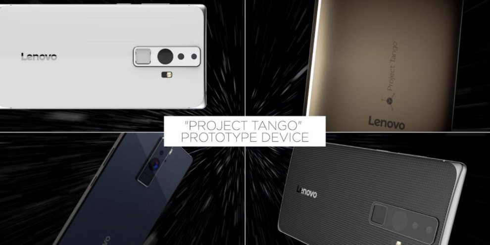 Lenovo Project Tango Android Smartphone
