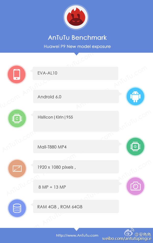 Huawei P9 Pro Android Smartphone