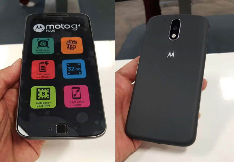Moto G4 Plus Android Smartphone