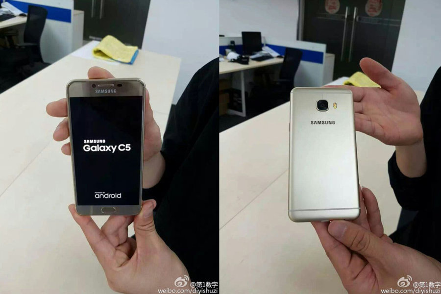 Samsung Galaxy C5 Android Smartphone