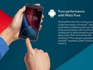 Moto G4 Plus Android 8.0 Oreo Update kommt nun doch