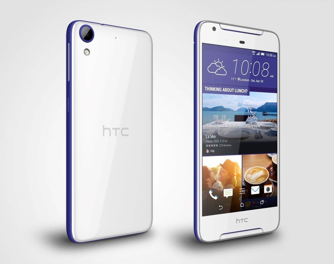 HTC Desire 628 Cobalt White Android Smartphone