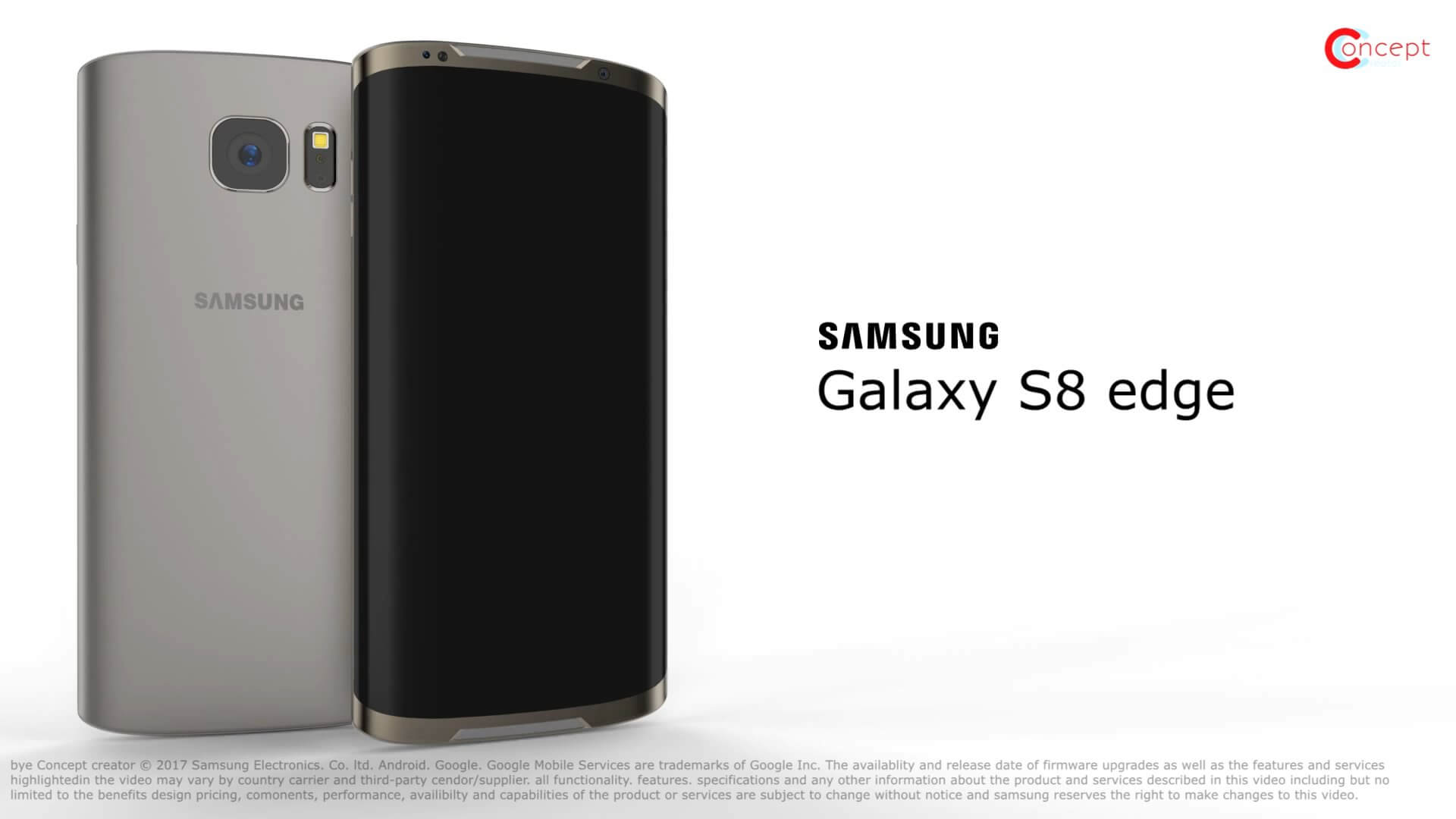 Samsung Galaxy S8 edge Android Smartphone