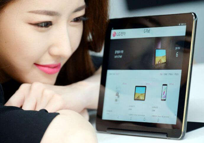 LG G Pad III 10.1 Android Tablet