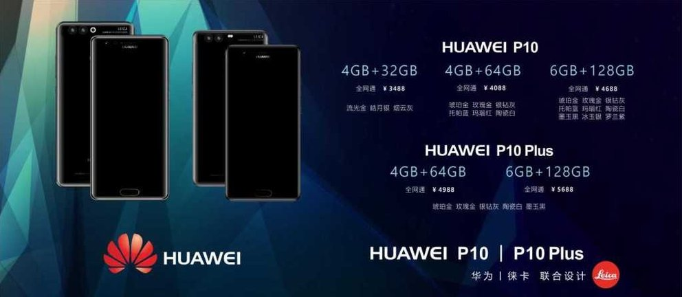 Huawei P10 (Plus) Android Smartphone