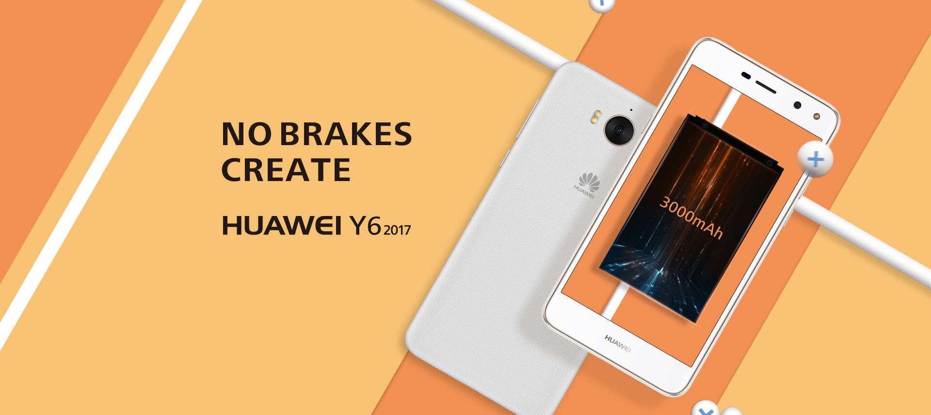 Huawei Y6 2017 Android Smartphone