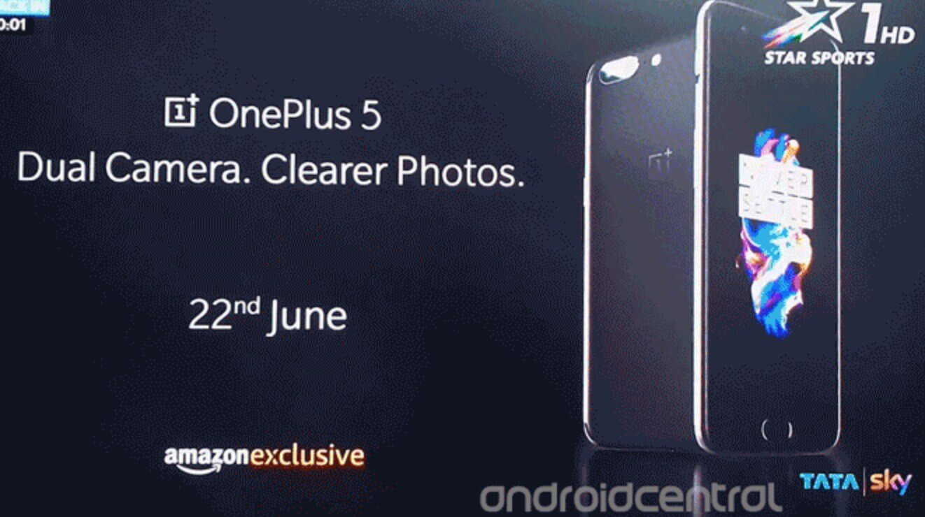 OnePlus 5 Android Smartphone