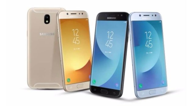 Samsung Galaxy J 2017 Android Smartphone
