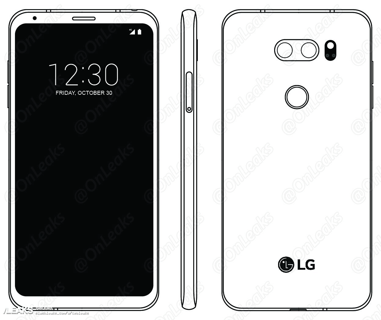 LG V30 Android Smartphone