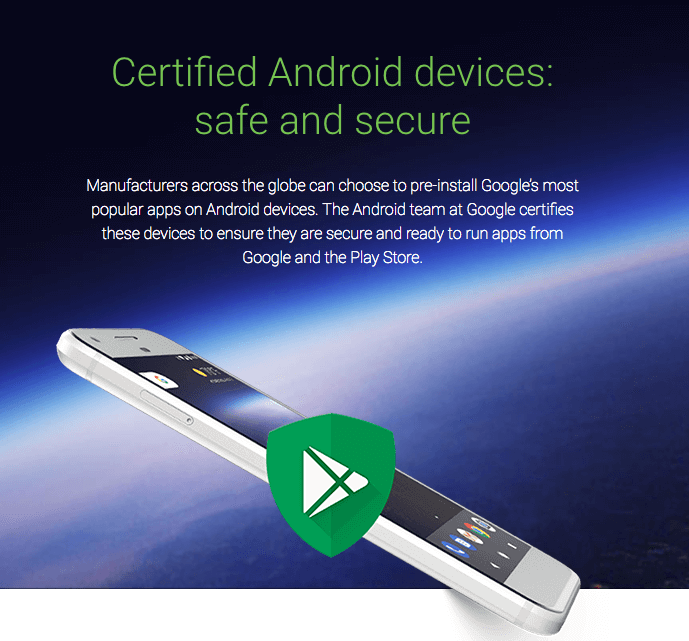 Certified Android Devices