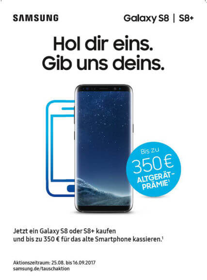 Samsung Galaxy S8/S8+ Android Smartphones