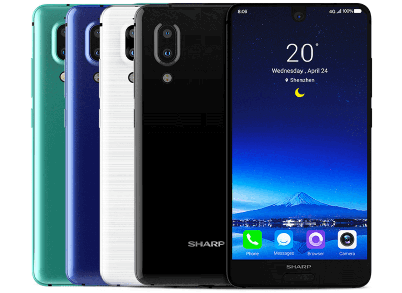 Sharp Aquos S2 Android Smartphone