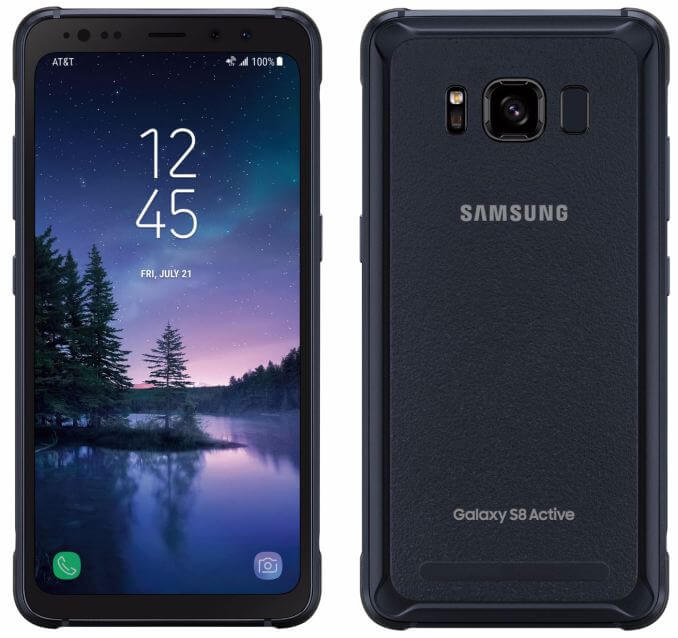 Samsung Galaxy S8 Active Android Smartphone