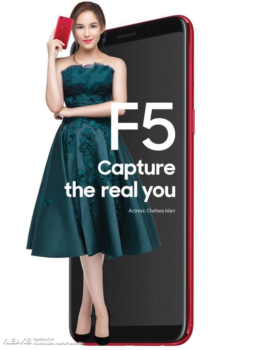 Oppo F5 Android Smartphone