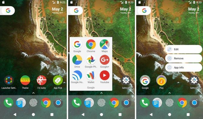 N launcher Pro Android Apps